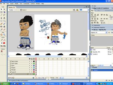 Screenshot Big Baby's character redesign.